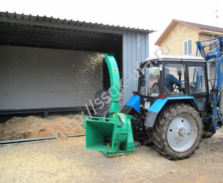 Рубительная машина (измельчитель веток) бобр-рг-160