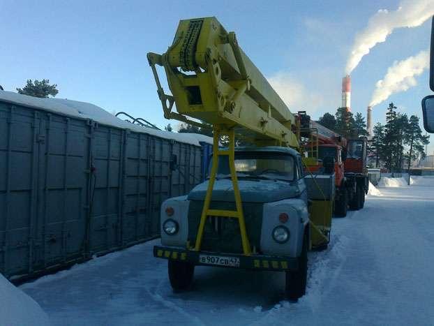 Автовышка агп-18 на базе газ-53 (4х2), высота подъема 18м г.приморск в