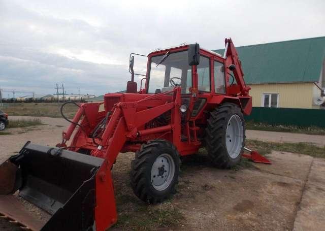 Трактор МТЗ 82,1 с куном и щеткой в Курске / Купить.