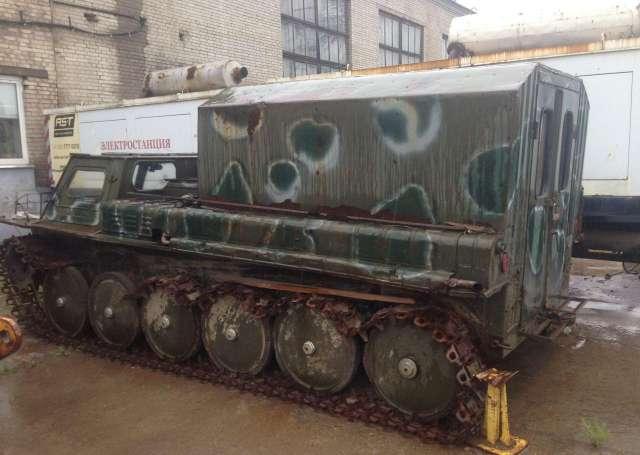 Гусеничный транспортер газ 34037 запчасти кузова транспортер т4
